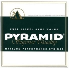 Pyramid Maximum Performance Pure Nickel Hand Wound 12-54 + Wound 3rd Electric Guitar Strings