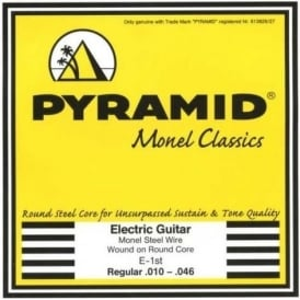 Pyramid Monel Classics, Monel Steel Wound Electric Guitar Strings, 10-46