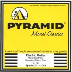 Pyramid Monel Classics Monel Steel Wound Electric Guitar Strings 11-48