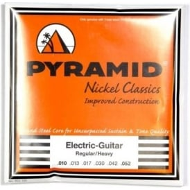 PYRAMID Nickel Classics 10-52 Electric Guitar Strings