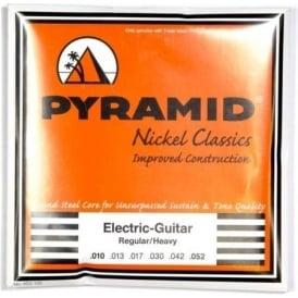 PYRAMID Nickel Classics 10-52 Electric Guitar Strings