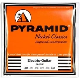 PYRAMID Nickel Classics 11-48 Electric Guitar Strings
