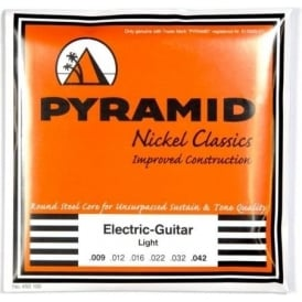 PYRAMID Nickel Classics 9-42 Electric Guitar Strings