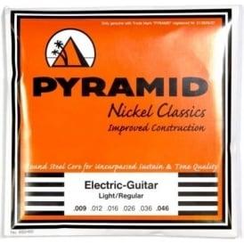 PYRAMID Nickel Classics 9-46 Electric Guitar Strings