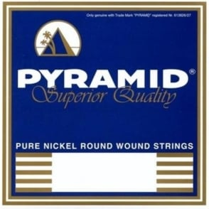 Pyramid Pure Nickel Round Wound 10-46 Medium Electric Guitar Strings