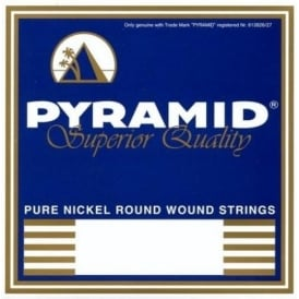 Pyramid Pure Nickel Round Wound 11-48 Jazz Electric Guitar Strings