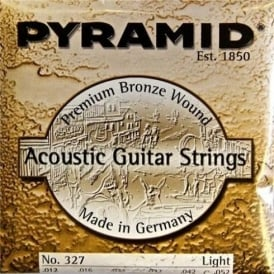 Pyramid Phosphor Bronze Hexcore 12-52 Acoustic Guitar Strings