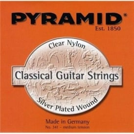 Pyramid Silver Plated Copper Medium Tension Classical Guitar Strings