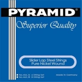 Pyramid Sliders Pure Nickel Wound Lap Steel 8-String B-11th Tuning Acoustic Guitar Strings