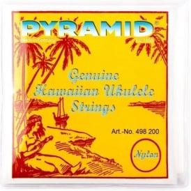 Pyramid Soprano Hawaiian Ukulele Nylon Strings