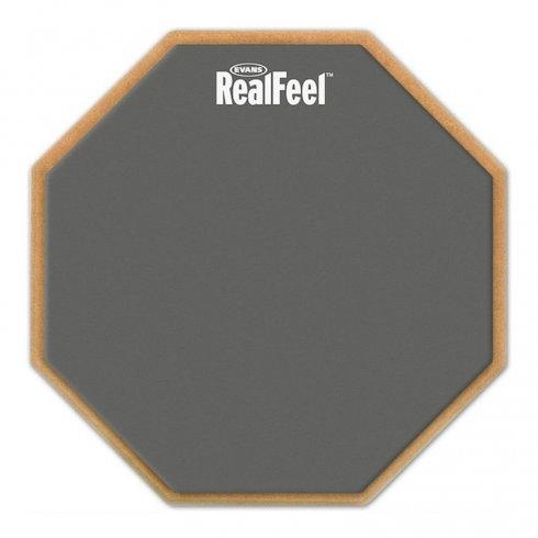 """Reelfeel by Evans 12"""" Speed Practice Drum Pad"""