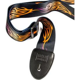 RoadWorks Terylene Guitar Strap, Tattoo #4 Design