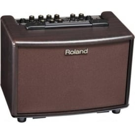 Roland AC-33 Acoustic Chorus Battery Powered Guitar Amplifier, Rosewood