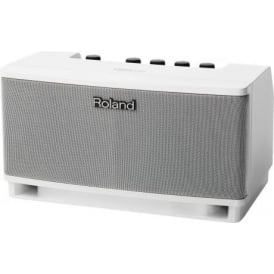 Roland Cube Lite Guitar Amplifier (White) with iPad / iPod Interface & Free App!