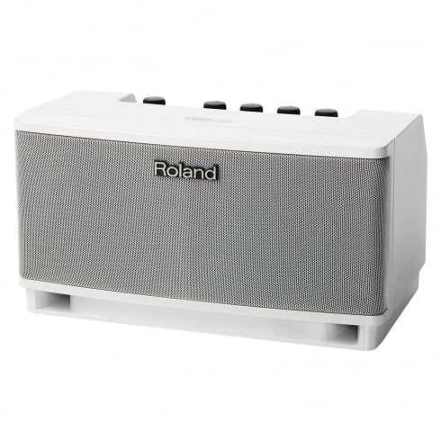 Roland Cube Lite Guitar Amplifier with iOS Interface, White