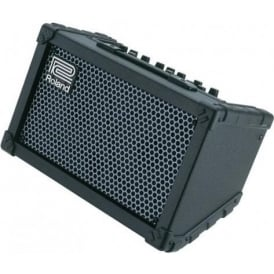 Roland Cube Street Stereo Black Portable Guitar Amplifier - Ideal for Buskers