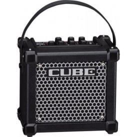 Roland Micro Cube GX Black 3-Watt Guitar Amplifier with Built in FX