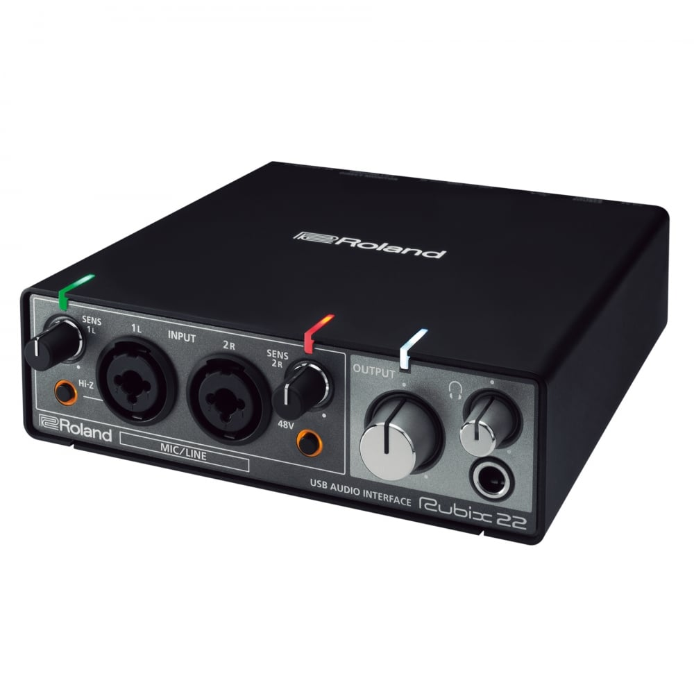 roland rubix 22 usb audio interface. Black Bedroom Furniture Sets. Home Design Ideas