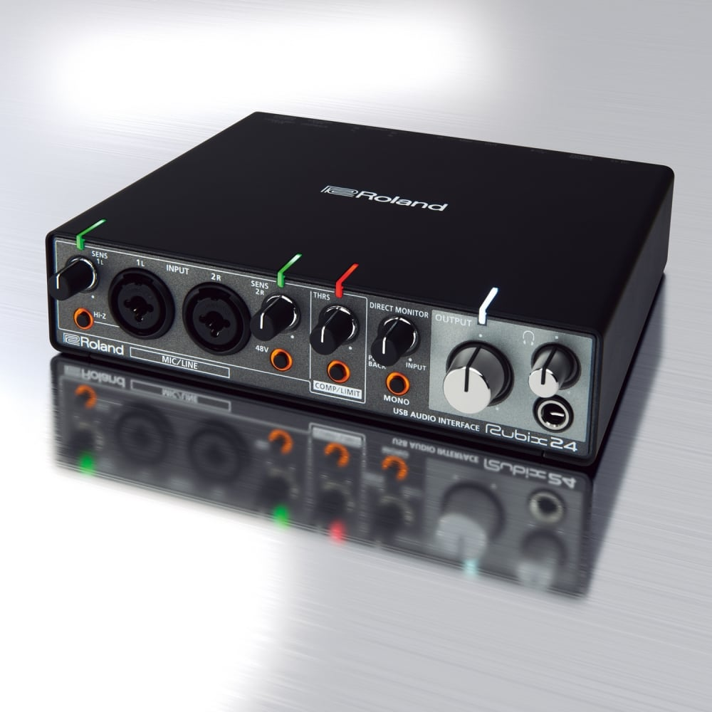 roland rubix 24 usb audio interface. Black Bedroom Furniture Sets. Home Design Ideas