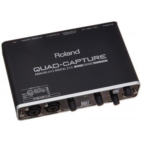 Roland UA-55 Quad Capture USB 2.0 Audio/MIDI Interface