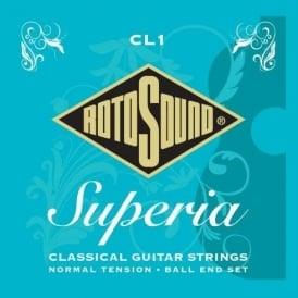 Rotosound CL1 Superia Nylon Ball End Classical Guitar Strings Normal Tension