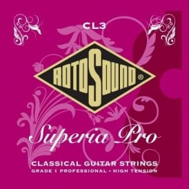 Rotosound CL3 Superia Pro Tie On Classical Guitar Strings High Tension