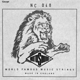 Rotosound NC040 Custom Nickel Wound Electric Guitar Single String .040