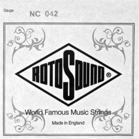 Rotosound NC042 Custom Nickel Wound Electric Guitar Single String .042
