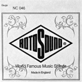 Rotosound NC046 Custom Nickel Wound Electric Guitar Single String .046