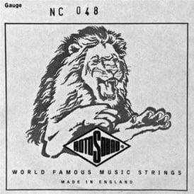 Rotosound NC048 Custom Nickel Wound Electric Guitar Single String .048