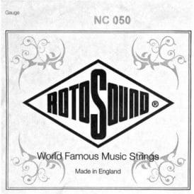 Rotosound NC050 Custom Nickel Wound Electric Guitar Single String .050