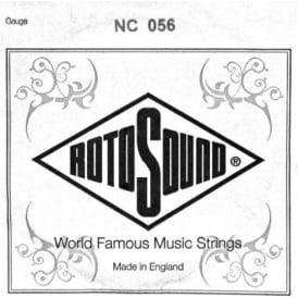 Rotosound NC056 Custom Nickel Wound Electric Guitar Single String .056