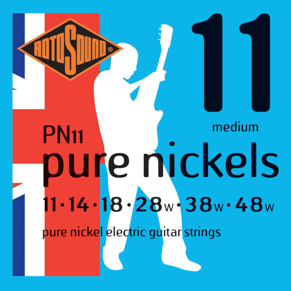 Rotosound Pure Nickels 11-48 Electric Gu