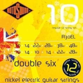Rotosound R30EL Roto Yellow Nickel Electric Guitar Strings 10-48 12-String Regular