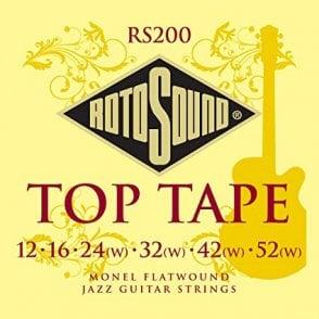 Rotosound Blacks 12-60 Guitar Strings