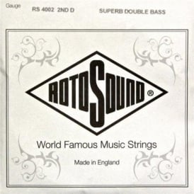 Rotosound RS4002M Superb Nylon on Nylon Core Double Bass Single String D