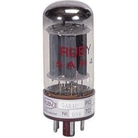 Ruby Tubes 5ARA/G234 Single Rectifier Tube for Guitar Amplifier