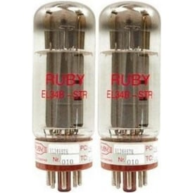 Ruby Tubes EL34/JJ Matched Pair Power Tubes