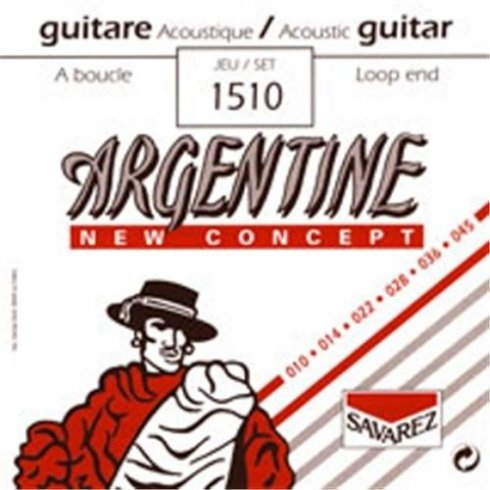 Savarez 1510 Argentine New Concept 10-45 Loop End Gypsy Jazz Guitar Strings