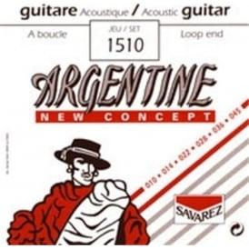Savarez 1510 Argentine New Concept 10-45 Loop End Gypsy Jazz Guitar Strings