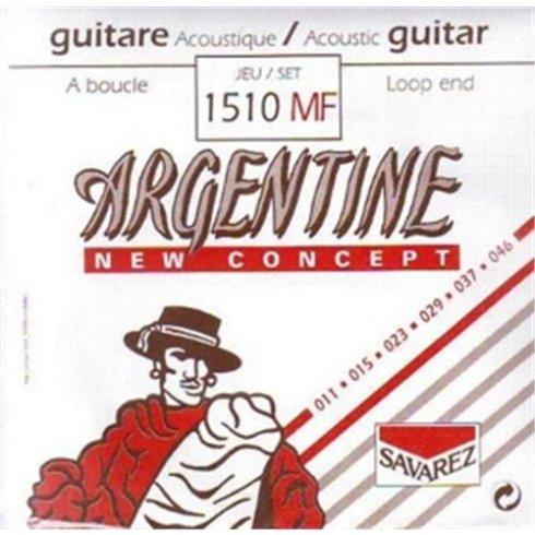 Savarez 1510MF Argentine New Concept 11-46 Loop End Guitar Strings