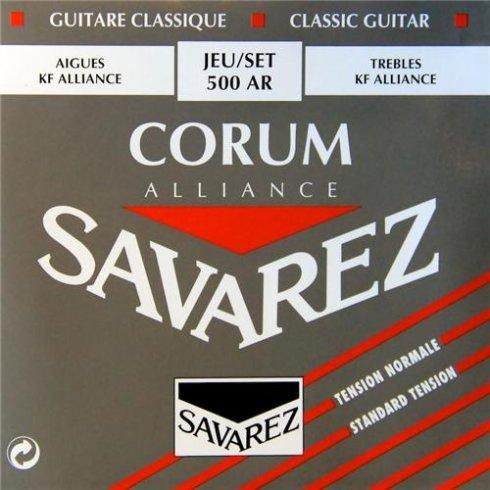 Savarez 500AR Corum Alliance Classical Guitar Strings Normal Tension