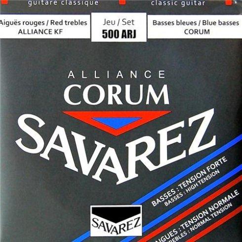 Savarez 500ARJ Corum Alliance Classical Guitar Strings Mixed Tension