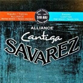 Savarez 510ARJ Cantiga Alliance Classical Guitar Strings