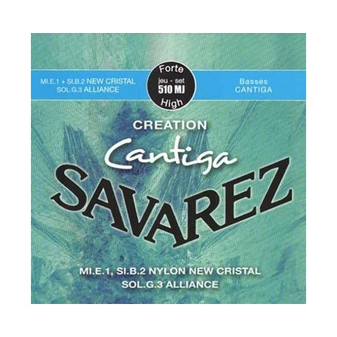 Savarez 510MJ Cantiga Creation High Tension Classical Guitar Strings