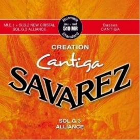 Savarez 510MR Cantiga Creation Standard Tension Classical Guitar Strings