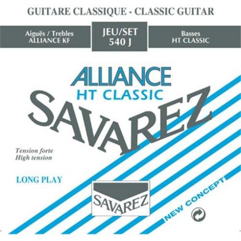 Savarez 540J Alliance HT Clear Nylon High Tension Classical Guitar Strings