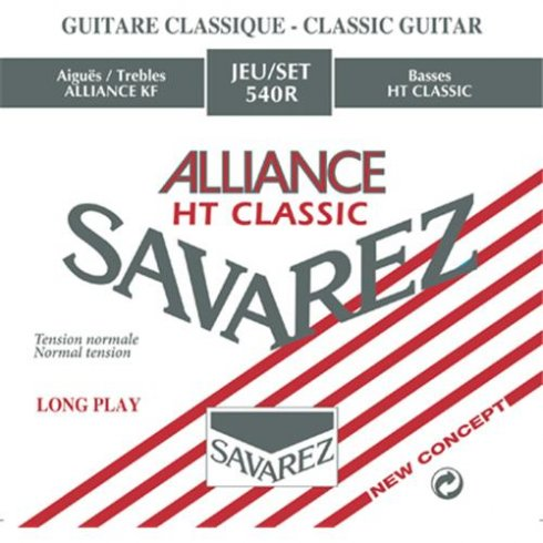 Savarez 540R Alliance HT Classical Guitar Strings Normal Tension