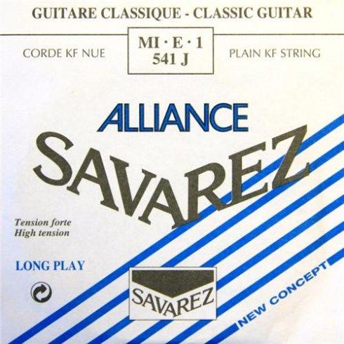 Savarez 541J Alliance HT Clear Nylon High Tension Classical Guitar Single String 1-E