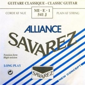 Savarez 541J Alliance HT Clear Nylon High Tension Classical Guitar Single String 1-E
